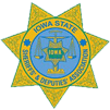Iowa State Sheriffs' & Deputies' Association Badge